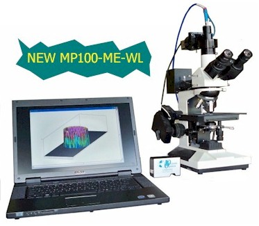 NEW MP100-ME-WL system with Scanning White Light Interference Capabilities